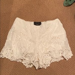 Dolce Vita lace shorts